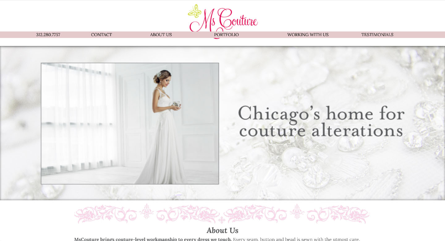 Ms Couture website